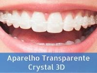 Aparelho Transparente Crystal 3D
