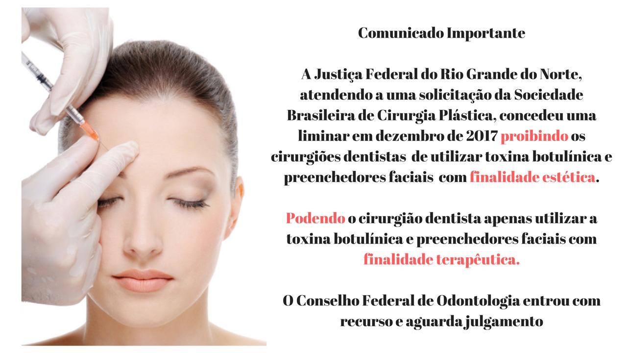 Comunicado Botox