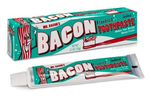 Pasta de dente de bacon